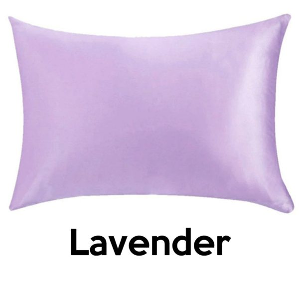 lavender silk pillowcases