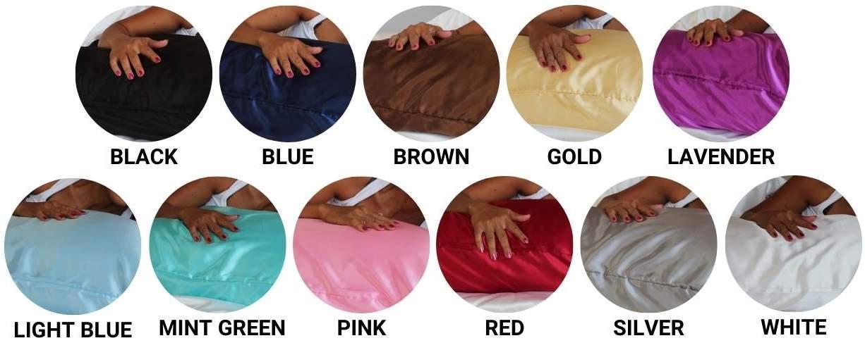 buy satin silk pillowcases online